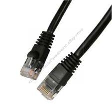 Lot16 1ft RJ45Cat5e Ethernet Cable/Cord $SH DISC{BLACK{F