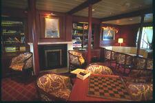 204024 la libreria e Lounge nelle tradizionali DARK Boiserie A4 FOTO STAMPA