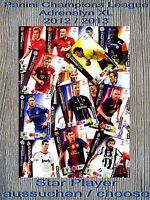 Panini Champions League Adrenalyn XL 2012 2013 Star Player aussuchen / choose