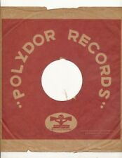 78 RPM Company Logo sleeves-PRE-WAR- POLYDOR (red)