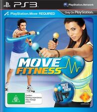Move Fitness Health Exercise Training Sports Video Game Sony PlayStation 3 Ps3