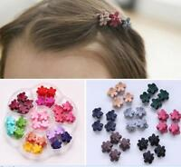 30PCS Hairpin Small Flowers Gripper Children Hair Clip Bangs Hair Accessories