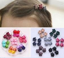 30Pcs Baby Kids Girls Claw Flowers Mini Hair Clips Headdress Random Lots