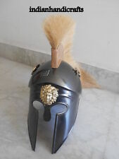 ANCIENT GREEK CORINTHIAN ARMOUR HELMET-SPARTAN KNIGHT HELMET W/DRIGON REPLICA