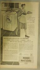 Bendix Appliances Ad: Automatic Home Laundry Machine from 1947
