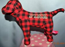 "Victorias Secret Pink GIANT 10"" x 13"" Mini Giant Dog Limited Edition Red NWT"