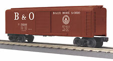 Mth Railking O Trains B&O Baltimore & Ohio Rounded Roof Box Car 30-74865