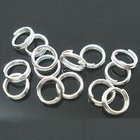 Wholesale Double Loop Split Open Jump Ring Jewelry Making Findings 4-14MM