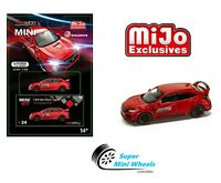 Mini GT 2017 Honda Civic Type R FK8 (Red) Time Attack Challenge 1:64