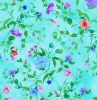 ALL OVER LEAFY VINE AND BLOOMS Cotton Print by TIMELESS TREASURES  BTY