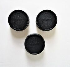 Nikon style- 3 x lens Caps for All Nikon F-mount lenses  Fast U.S. Shipping!
