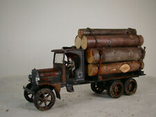 Beautiful custom weathered Logging Truck - O scale or small G scale - lot 24