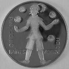 """Österreich 100 Schilling 1975 Silber Casinos Austria """"Pinocchio"""""""