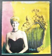 "Ringo (Daniel Funes), ""Princess Diana"".  Hand signed by Ringo, R 4U2C 6 on front"