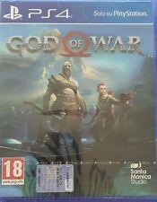 GOD OF WAR PS4 ITALIANO SONY PLAYSTATION 4 GIOCO PAL NUOVO SIGILLATO NO HITS
