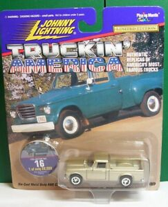 Johnny Lightning Truckin' USA #16 60,s Studebaker Champ Limited 1 of 20,000