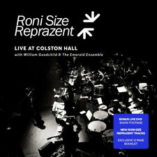 RONI SIZE REPRAZENT Live At Colston Hall (2015) CD + DVD album NEW/UNPLAYED