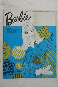 VINTAGE Mattel Barbie Magazine March-April 1966 (Set / 2 copies)