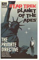 Star Trek Planet Of The Apes The Primate Directive 1 B IDW VF NM Ortiz Variant