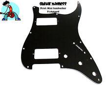 Black mm Mini Humbucker 3-PLY Strat Pickguard fits USA & MIM for Fender ®