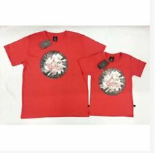 CHICAGO ADULT AND SON SHIRT S-L (EO) - RED (FATHER'S SIZE SMALL)