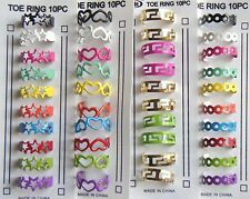 NEW WHOLESALE LOT OF 40 PC TOE RINGS FASHION JEWELRY