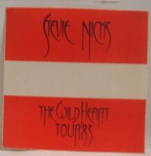Fleetwood Mac / Stevie Nicks - Original Tour Cloth Backstage Pass
