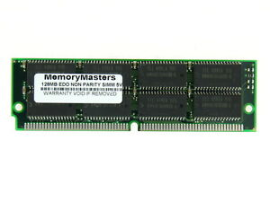 128MB EDO MEMORY NON-PARITY 60NS SIMM 72-PIN 5V 32X32 TSOP OR SOJ Modules 72P