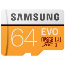 Samsung Evo 64GB MicroSD XC Class 10 UHS-3 100mb/s Mobile Memory Card 64G S7 S8