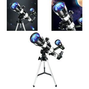 70mm Astronomical Reflector Telescope Kit w/Compass for Kids Beginners