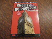 dvd english no problem debutant avance 8 inclus dvd + un livre + un cours audio