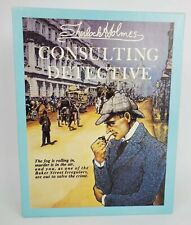 Sherlock Holmes Consulting Detective Board Game Sleuth Publications - Never Used