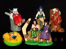 Bandai Inuyasha figure gashapon Part.3 (full set of 6 figures)