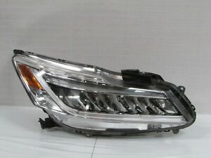 2016 2017 HONDA ACCORD TOURING SEDAN FACTORY OEM RIGHT LED HEADLIGHT EAL