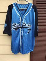 New York Athletics Baseball Athletic Wear Jersey XL