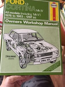 Haynes - Ford Cortina 1.3 All Models 1976 to 1983  / Owners Workshop Manual