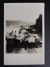 No.12R BORNEO HOUSE BOATS RP Peeps Into Many Lands 2nd Series - Cavanders 1928