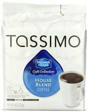 Tassimo Maxwell House Medium Roast House Blend Coffee T Discs 80 Count,5 Packs