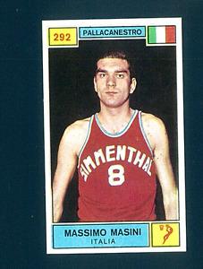 Figurina Campioni dello Sport 1969-70! N.292 Masini! Pallacanestro! Nuova!!