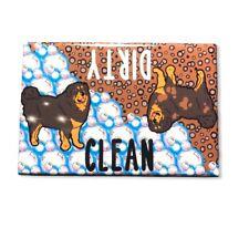 Tibetan Mastiff Dog Dishwasher Magnet Kitchen Cleaning Accessories Home Decor