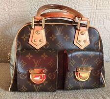 Louis Vuitton LV Manhattan PM Handbag Monogram Canvas  Preowned