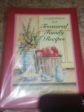 Treasured Family Recipe Organizer, New, from Meadowsweet Kitchens Vintage