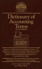 Dictionary of Accounting Terms (Barrons Business
