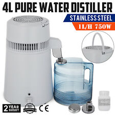 4L Dental Medical Pure Water Distiller All Stainless Steel Internal