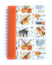 A5 Musical Instrument Notebook - Music Themed Stationery - Music Gift