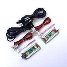 2 Player Zero Delay 4 In 1 USB PC Encoder To PC Game Joystick & PS3 Games JAMMA