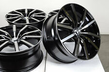 18 5x120 Black Effect Wheels Fits BMW Cadillac CTC CTS Pontiac G8 3 Series Rims