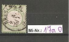Deutsches Reich Mi-Nr.: 17 a sauber gestempelter Wert