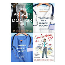 Confessions of a GP,Where Does it Hurt,The prison doctor 4 Books collection Set