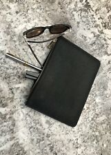 Premium Clutch Bag in Luxury Saffiano Leather - Black - New Item - UK Seller